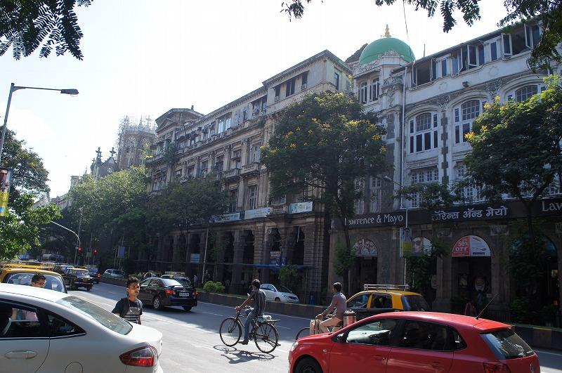 ムーンバイ市街