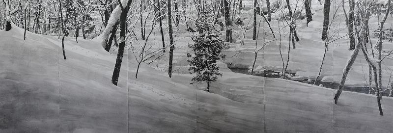 奥入瀬雪景 雪中六趣(照)