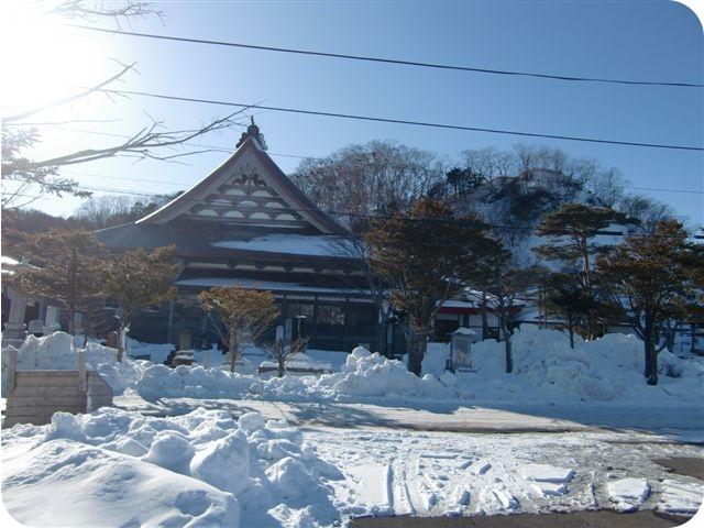 冬の本堂2