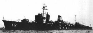 駆逐艦 白雲