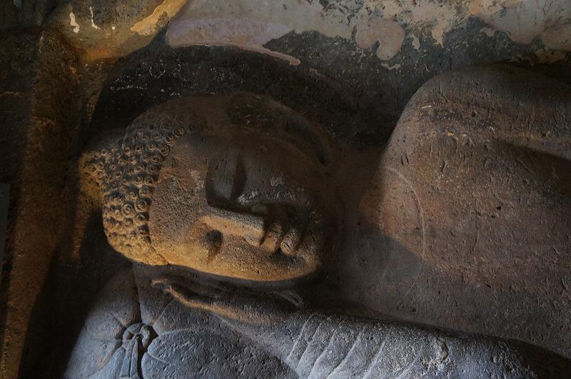第26窟 仏陀涅槃像