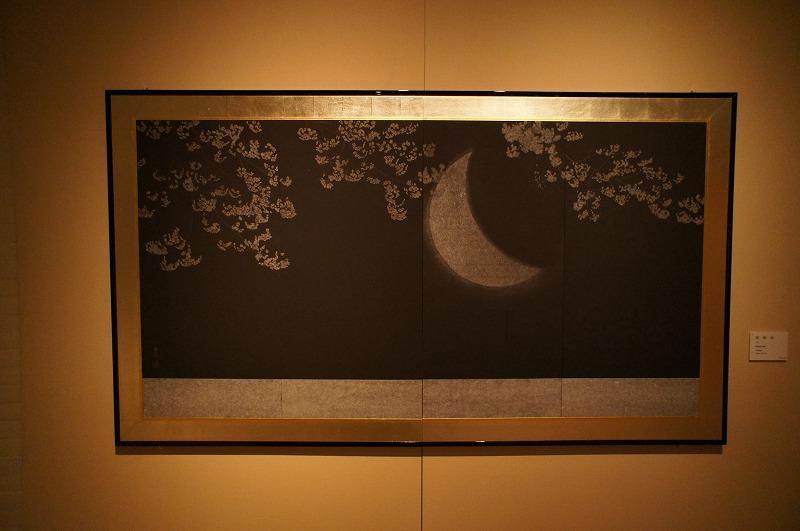 夜桜(寂) 展覧会写真