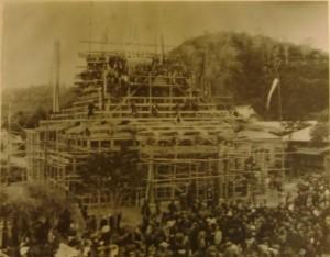 寺の歴史 本堂移築1