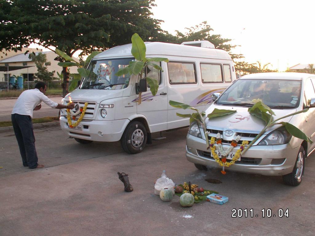 Dasara祭り Pooja