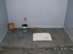 インド式トイレ